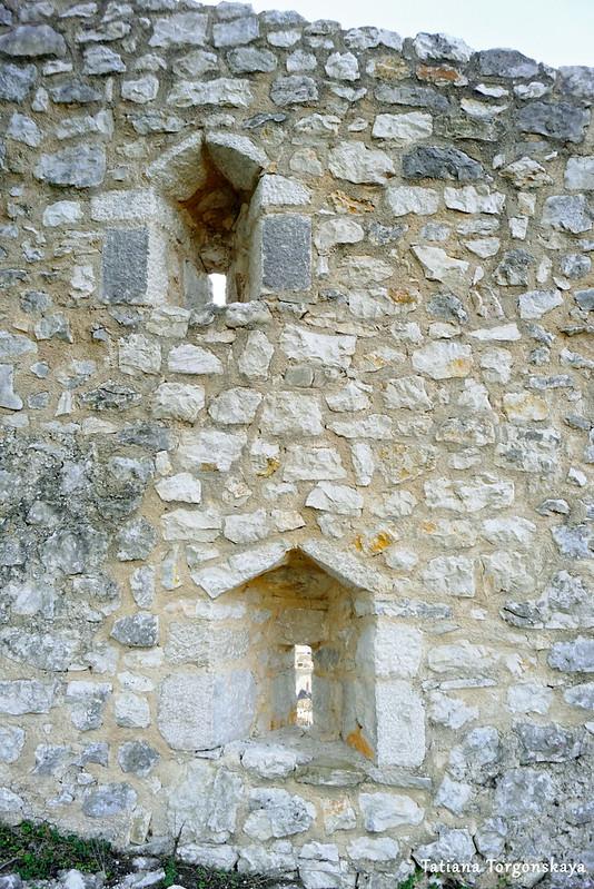Фрагмент стены с бойницами