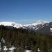 Studniční hora a Sněžka z lanovky na Hnědý vrch (B3)