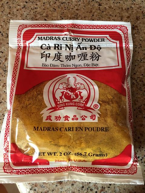 Madras Curry Powder / Cà Ri Nị Ấn Độ / 印度咖喱粉 / Madras Cari En Poudre