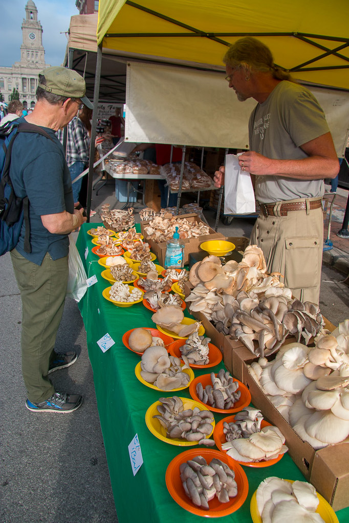 Mushrooms at Farmer's Market