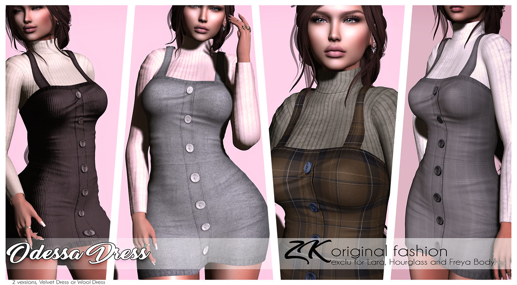 -:zk:- Odessa Dress@ VANITY EVENT - TeleportHub.com Live!