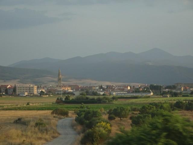 Pasando por Santo Domingo de la Calzada