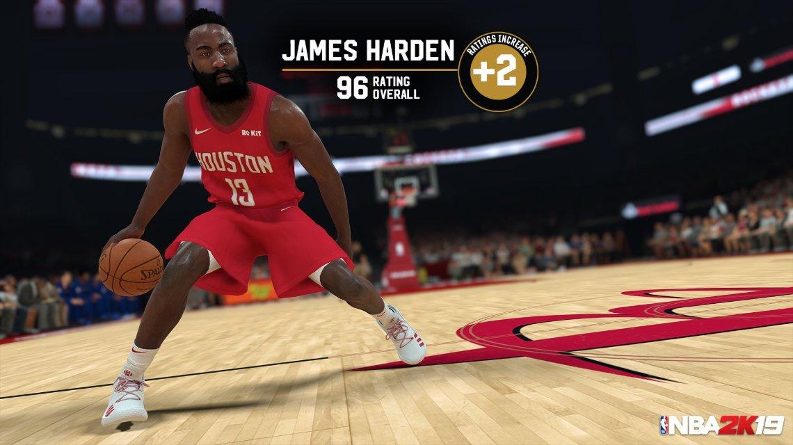 NBA 2K19 Roster Güncellemesi (10 Ocak 2019)