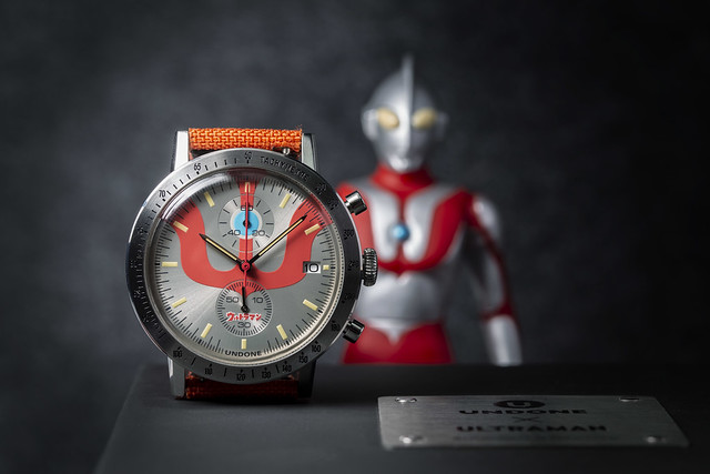 UNDONE x ULTRAMAN《超人力霸王》聯名錶款