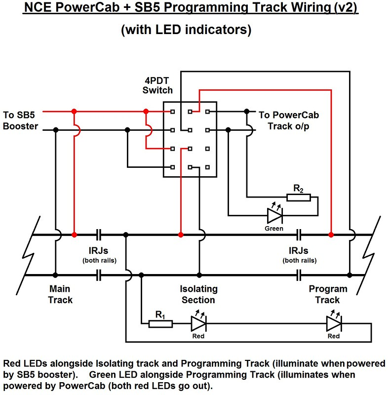 Switch It Nce Dcc Wiring Diagram. Lionel Wiring Diagram, Led ... on