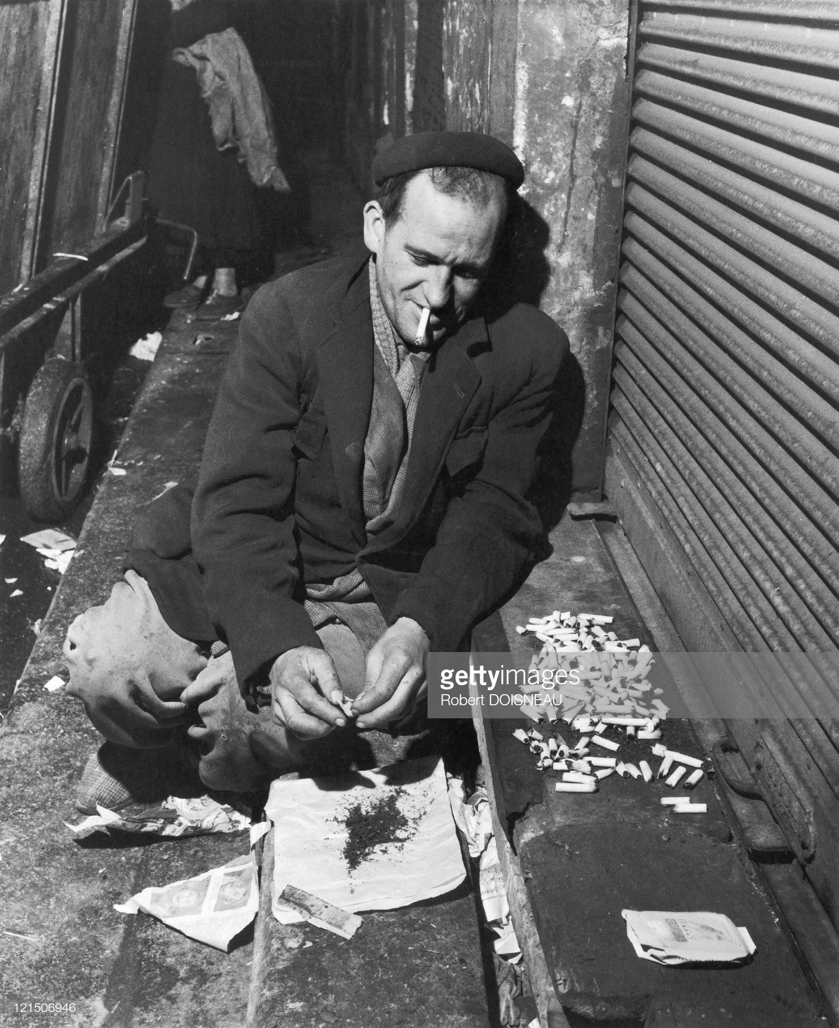 1956. Переработка окурков