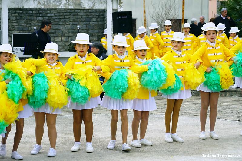 "Танец от младшей группы мажореток ""Lili"""