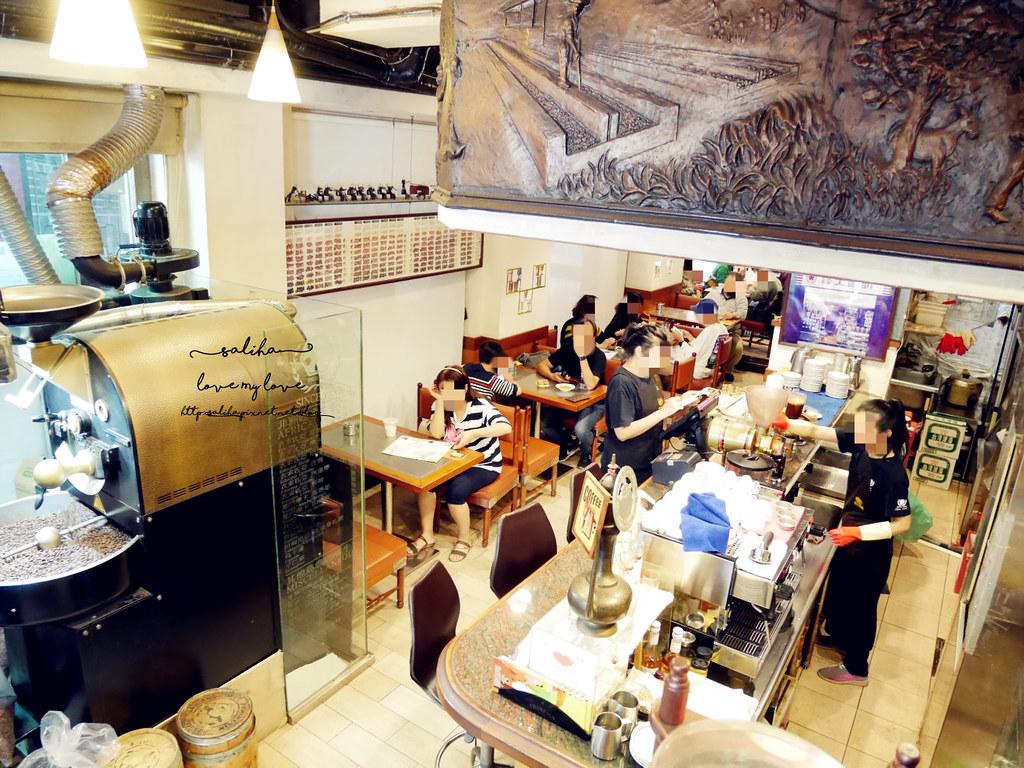 台北西門町紅樓附近老店咖啡廳下午茶推薦蜂大咖啡 (4)