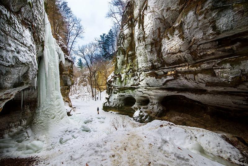 Winter in Tonti Canyon