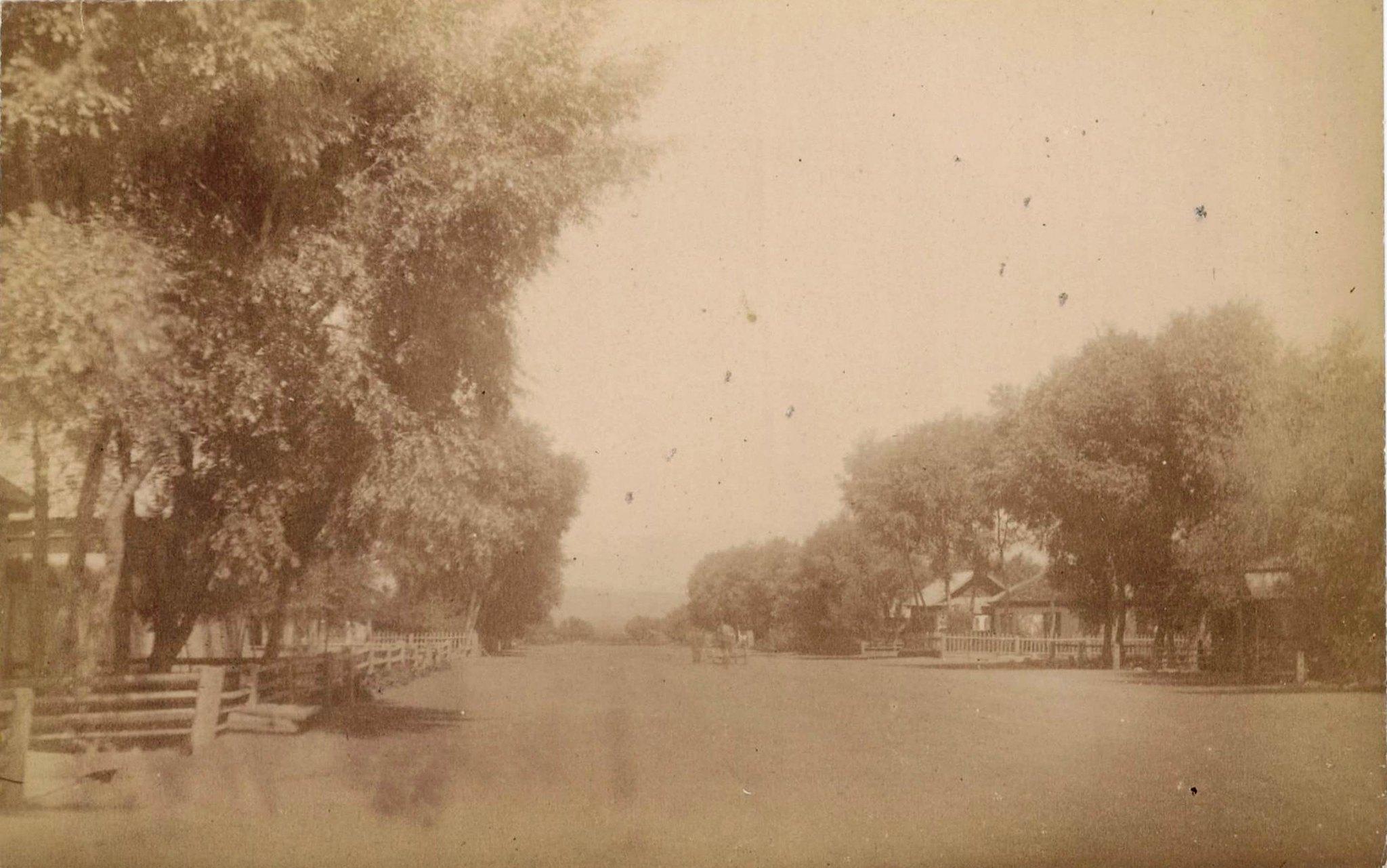 04. Иссык-Куль, улица в Караколе, восточный конец