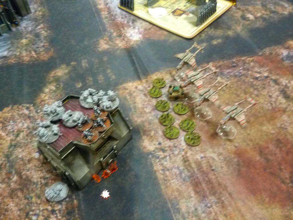 [Crazy Orc, 22.12.18] Astra Militarum vs Squats (4000pts)  46373938752_9d6be9a570_b
