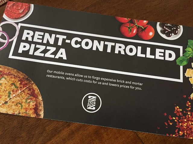 """RENT-CONTROLLED"" Pizza"