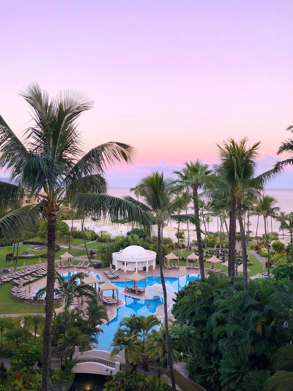 Sunrise Fairmont Kea Lani Best Hotel Maui