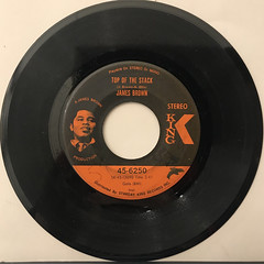 JAMES BROWN:LOWDOWN POPCORN(RECORD SIDE-B)