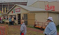 Strawberry Shortcake Booth, 2019 Plant City FL Strawberry Festival