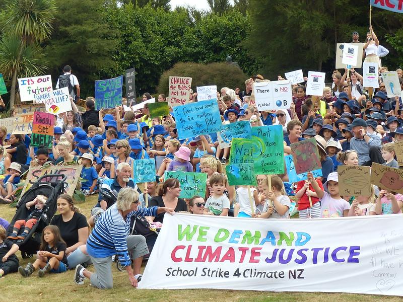 Waihi Schools Strike 4 Climate