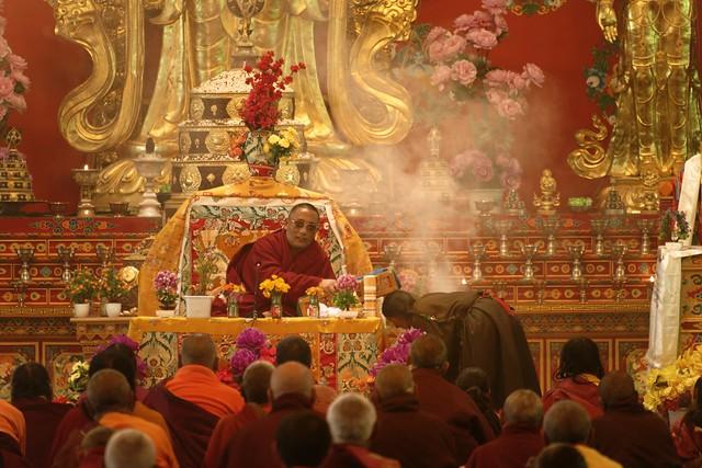 Yarchen Gar ceremony, Tibet 2018