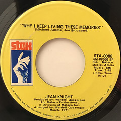 JEAN KNIGHT:MR.BIG STAFF(LABEL SIDE-B)