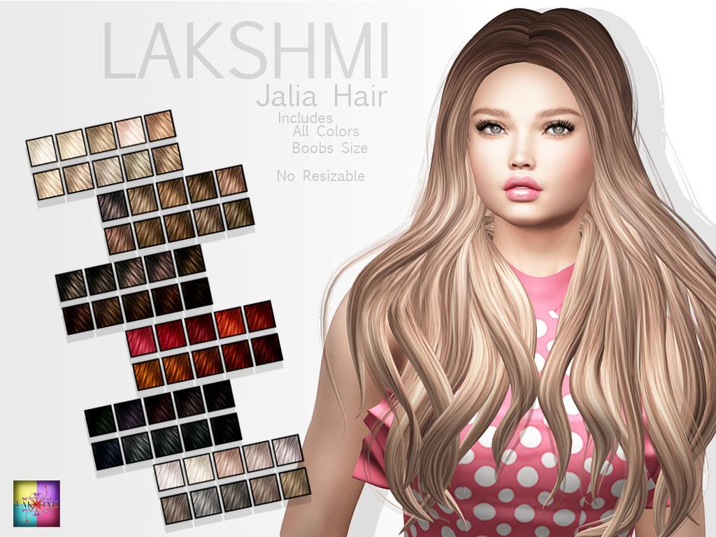 [LAKSHMI]Jalia Hair - TeleportHub.com Live!