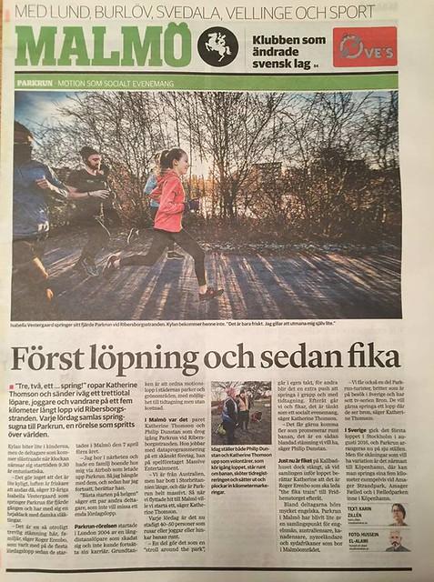 Malmö newspaper