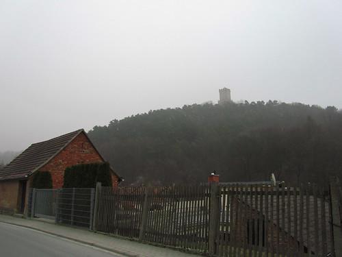 20110316 0203 272 Jakobus Eckartsberga Hügel Wald Burgturm