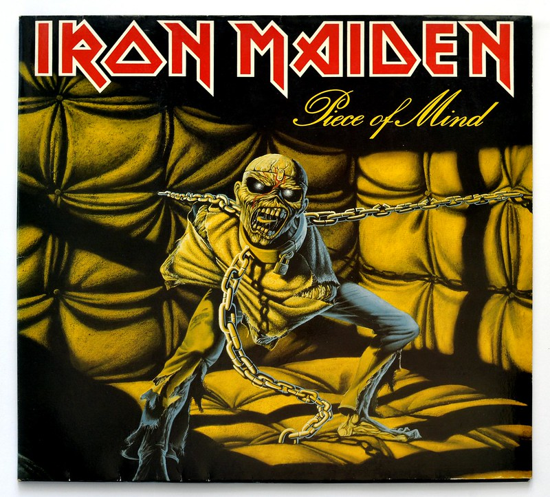A0302 Iron Maiden Piece of Mind