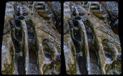 Remains of Elf Castle Regenstein 3-D /