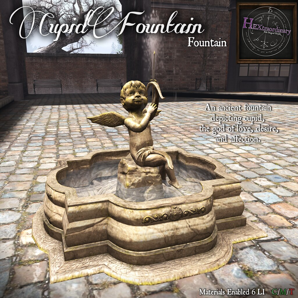 Cupid Fountain - TeleportHub.com Live!