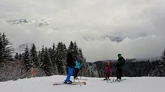 Fresh snow on the pistes