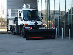 Mercedes-Benz Unimog - Photo of Auxon-Dessus