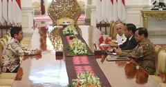 Bertemu Presiden Jokowi, Achmad Zaky CEO Bukalapak Minta Maaf