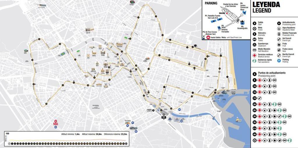 Correr el Maratón de Valencia, España - Marathon Spain maratón de valencia - 47146815002 81ececc965 o - Maratón de Valencia: análisis, recorrido, entrenamiento y recomendaciones de viaje