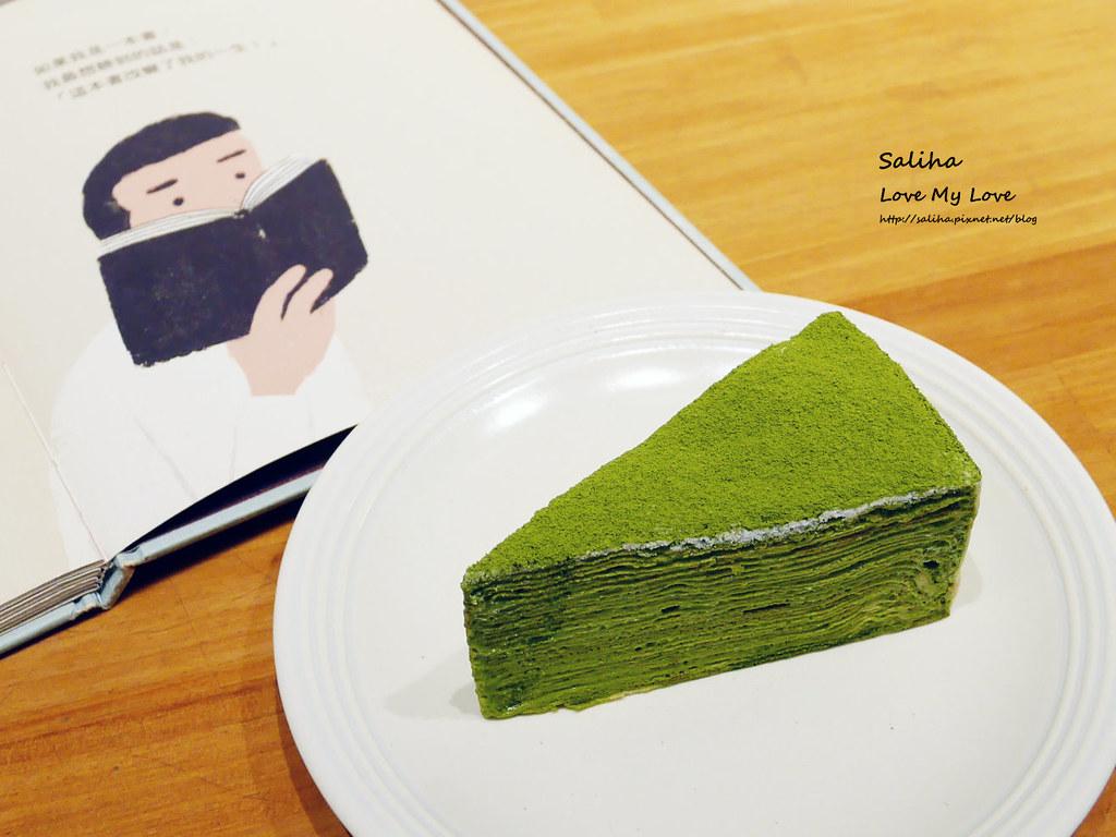 台北好吃甜點千層蛋糕不限時咖啡館生活在他方適合看書閱讀 (1)