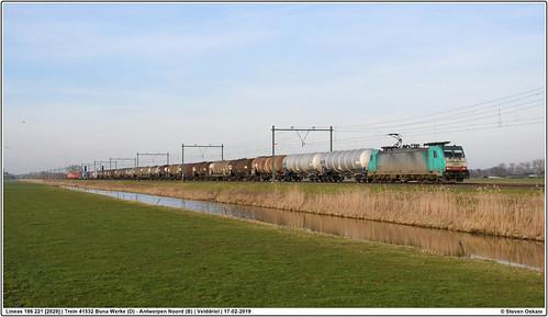 Lineas 186 221 [2829]   Velddriel   17-02-2019