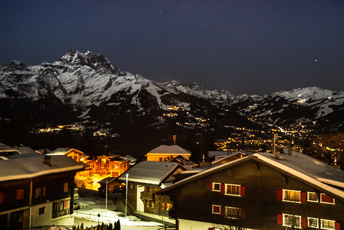 Alpine nightime
