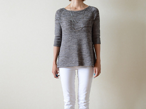 Tulip by Ririko, an a-line pullover pattern in two styles