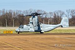 168232 USMC | Bell/Boeing MV-22B Osprey | Millington-Memphis Airport