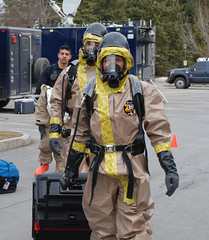 Civil Support Teams exercise at Hamilton College