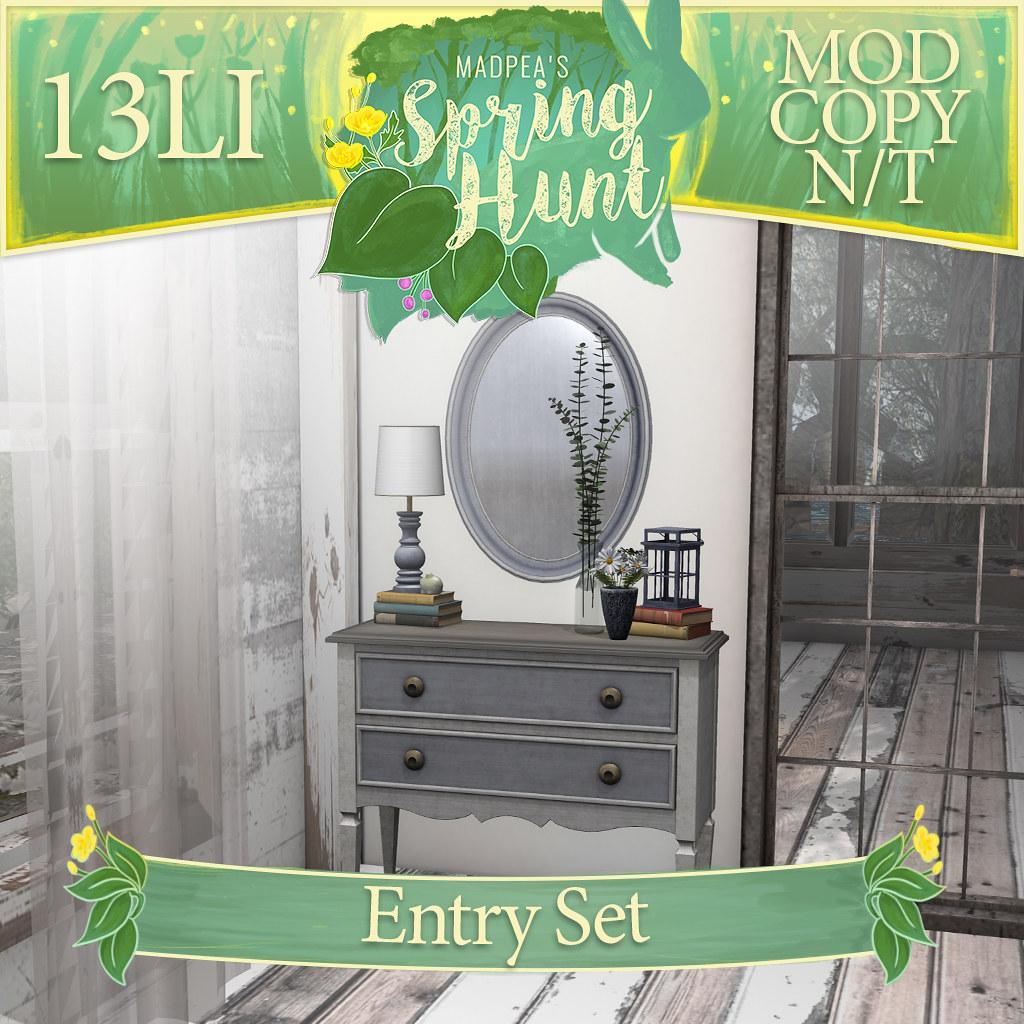 MadPea Spring Hunt - Entry Set! - TeleportHub.com Live!