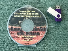 A History of Indiana Obsolete Bank Notes and Scrip cover