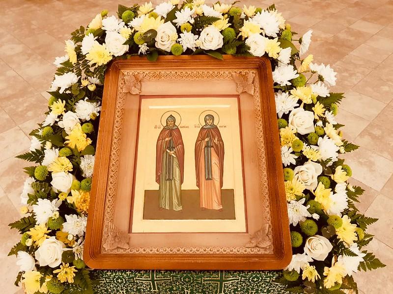 Прпп. Кирилл и Мария