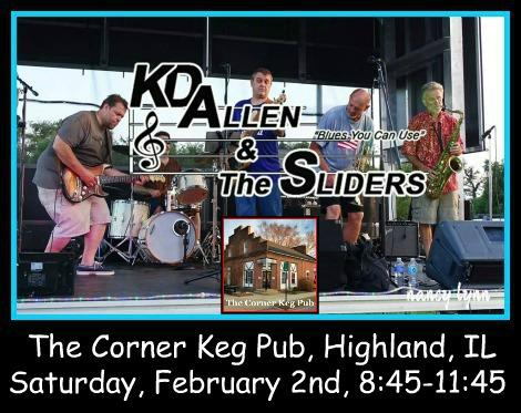 KD Allen & The Sliders 2-2-19