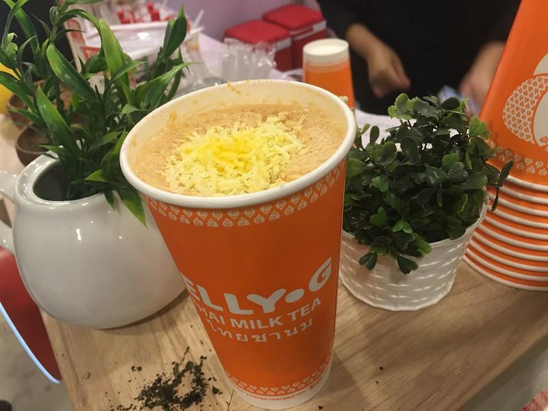 Jelly G Thai Milk Tea, UP Town Center