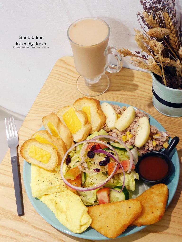 捷運新店區公所站附近咖啡廳早午餐餐廳brunch吃貨ing (7)