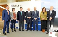 22/03/2019 - La Universidad presenta su nuevo Plan Estratégico Deusto 2022 que lleva como lema Transforming our world together / Personas que transforman el mundo