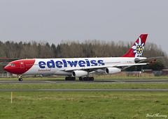 Edelweiss Air A340-300 HB-JMD