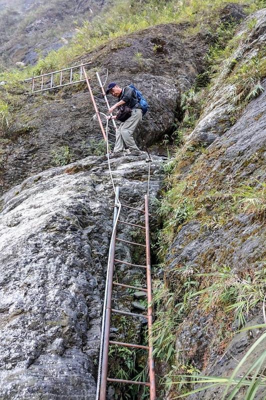 岩壁鐵梯段 (5)