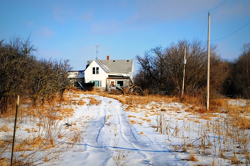 Abandoned farmhouse - Southern Wisconsin