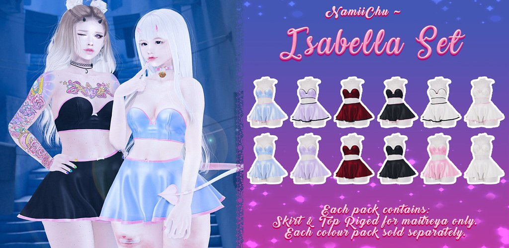 Namiichu - Isabella Set  @ equal10 - TeleportHub.com Live!
