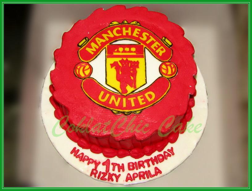 cake Manchester United RIZKY 15 cm